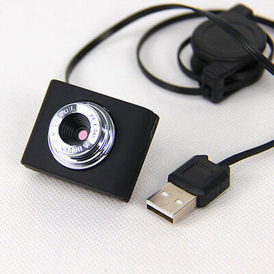 HD 16 Megapixels USB 2.0 Webcam Clip-on Camera for kype Computer PC Laptop New