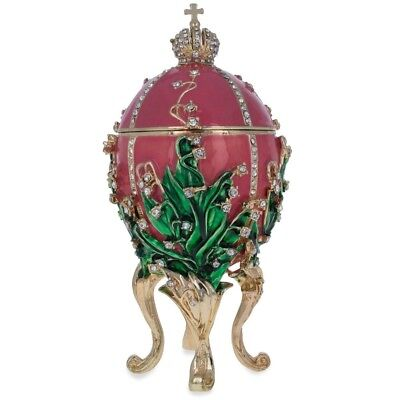 1898 Lilies of the Valley Royal Russian Egg 6.25 Inches