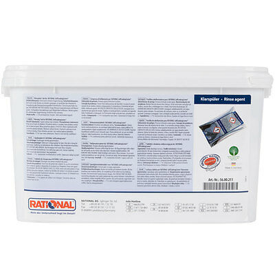 Rinse Aid Tabs 50pk for Rational SelfCookingCenter Combi Ovens Pre-Care Control