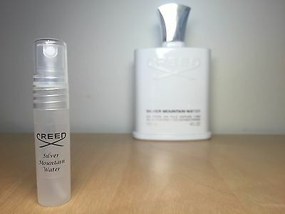 SILVER MOUNTAIN WATER by CREED - 5ml sample - 100% GENUINE
