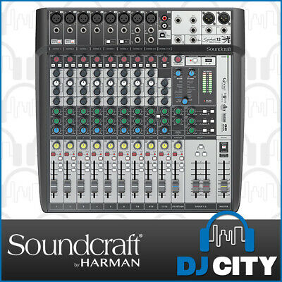 Soundcraft Signature 12MTK Mulitrack Recording PA Mixing 12 Channel