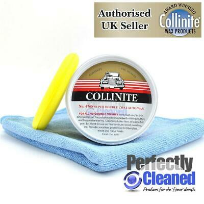 Collinite 476 Super Doublecoat Wax 266ml with Microfibre and Foam Applicator Pad