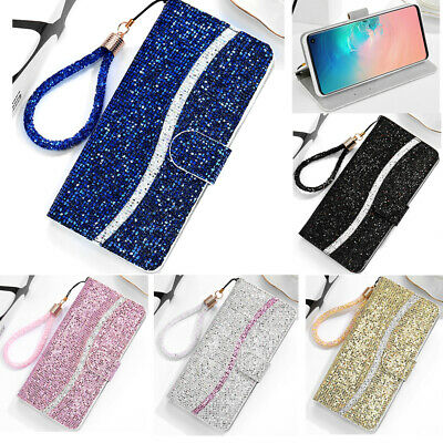 Flip Patterned PU Leather Wallet Card Pocket S lot Stand Case TPU Cover Bumper