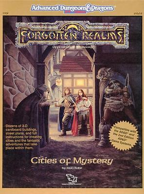 Cities of Mystery EXC Forgotten Realms Box Set Dungeons & Dragons ad&d