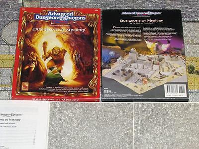 Dungeons of Mystery EXC 100% Complete Box Set Dungeons & Dragons ad&d