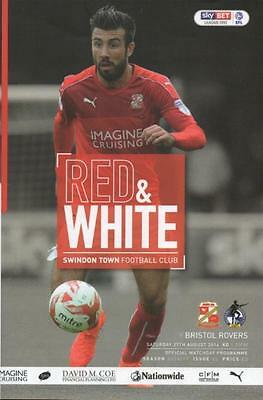 2016/17 - SWINDON TOWN v BRISTOL ROVERS (27th August 2016 - ABANDONED)