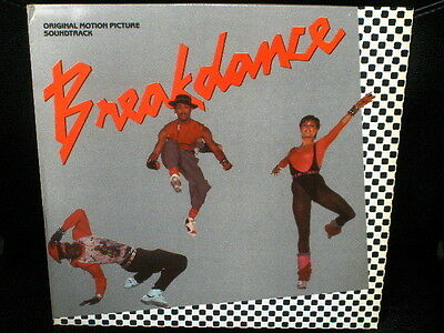 LP OST BSO BREAKDANCE breakin' there's no stopping us SPANISH 1984 VINYL