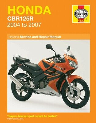 Haynes Manual Honda CBR125R 04-10 (Each)