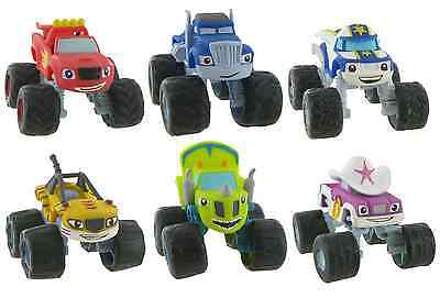 Comansi Official Blaze And The Monster Machines Toy Figure Cake Topper Toppers