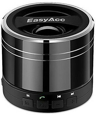 EasyAcc Mini Portable Rechargeable Bluetooth Speaker with Microphone *BRAND NEW*