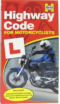 Haynes Highway Code for Motorcyclists (Each)