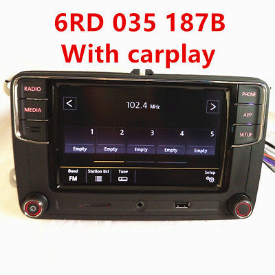 "6.5"" MIB UI Radio RCD510 RCN210 RCD330 RCD320 RCD330G Plus for VW Golf 5 6 CC"
