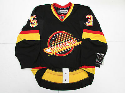 check out c5e49 40196 VANCOUVER CANUCKS AUTHENTIC Retro Black Flying Skate Reebok ...