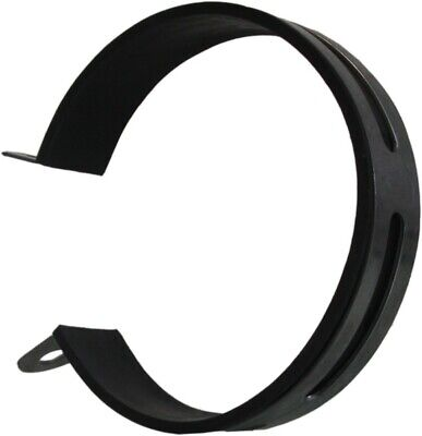 Exhaust Clamp 105-120mm Stainless with rubber insert (Each)