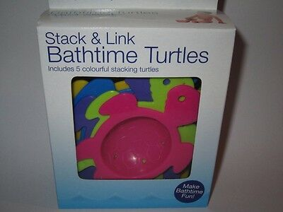 Stack And Link Bath time Turtles Children's Nighttime And Daytime Bath