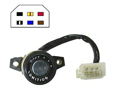 Ignition Switch Yamaha RD250E,F,RD400E,F 78-79(6 Wire) (Each)