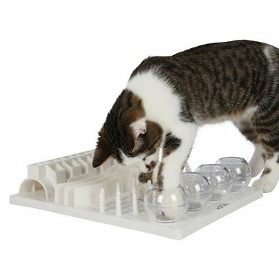 Cat 5 in 1 Activity Fun Interactive Board, 30 × 40 c, Cats Activity Centre Toy