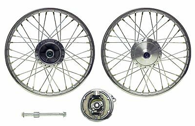 Front Wheel XL125R style drum brake(Rim 1.40 x 18) (Each)
