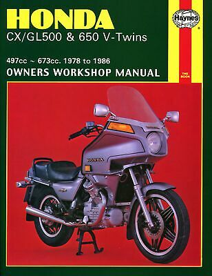 Haynes Manual Honda CX500 78-83,CX650 83-86,GL650 83-86 (Each)