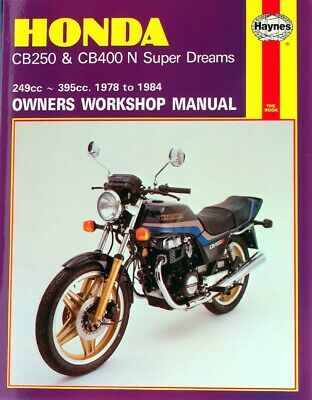 Haynes Manual Honda CB250N,CB400N Super Dream 78-84 (Each)