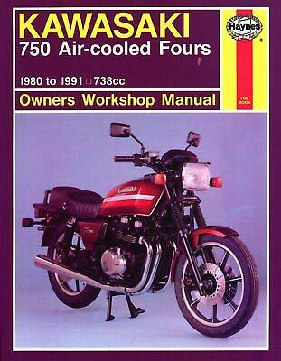 Haynes Manual Kawasaki GPZ750,Z750,GT750 A/C 80-87 (Each)