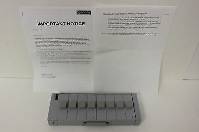 SPECIALIX 00-204000 MTA8//D MODULAR TERMINAL ADAPTER 8 PORT RS232 WITH WARRANTY