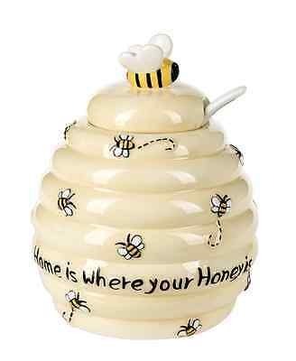 New Ganz Just Bee Cause Home Is Where Your Honey Is  Honey Jar
