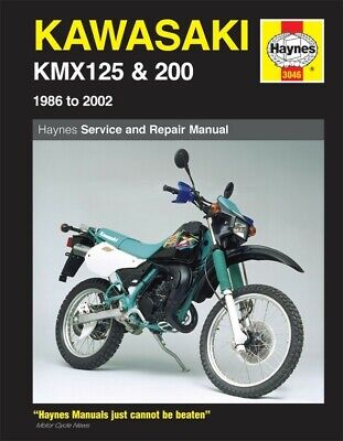 Haynes Manual Kawasaki KMX125 86-02,KMX200 88-92 (Each)