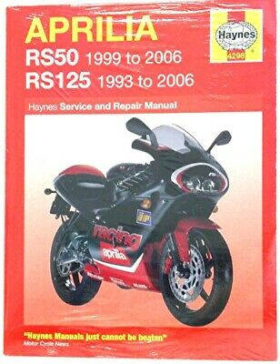 Haynes Manual Aprilia RS50 99-06,RS125 93-06 (Each)