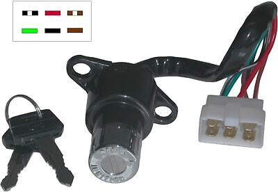 Ignition Switch Honda CB125T,CB250N,RS,T,1 78-01(6 Wires) (Each)