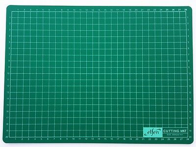 Cutting Mat Elfen Professional Self Healing Non Slip Surface  Double Sided A4