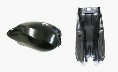 Tank Yamaha RD125LC styled painted black (Each)