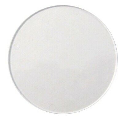 Tax Disc Holder Replacement Round Perspex Glass (Each)