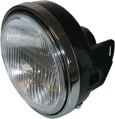 """Headlight Round Complete Yamaha RD250,RD350LC 8"""" (Each)"""