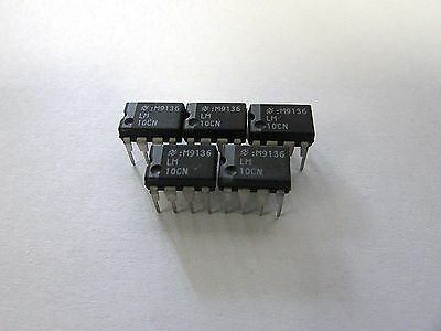 NATIONAL SEMI LM10CN LM10 IC Integrated Circuit 8Pin - Lot of 5 Pcs NEW NO PKG