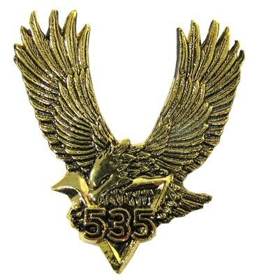Emblem in Chrome V535 Eagle 55mm x 71mm (Each)