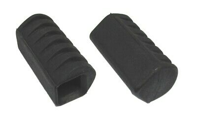 Footrest Front Rubber Yamaha  PW50 85-10,YT60 Trike 84,85 (Pair)