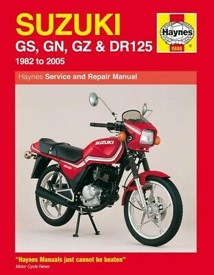 Haynes Manual Suzuki GS125,GN125,GZ125,DR125 82-05 (Each)