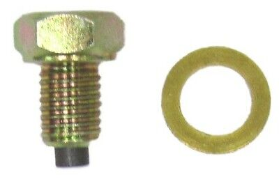Oil Drain Bolt Magnetic 10mm x 1.25mm,Thread Length 12mm (Each) 92066-1033