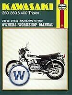 Haynes Manual Kawasaki KH250,KH400 76-79,S1 72-76,S2 71-73,S3 74-76 (Each)
