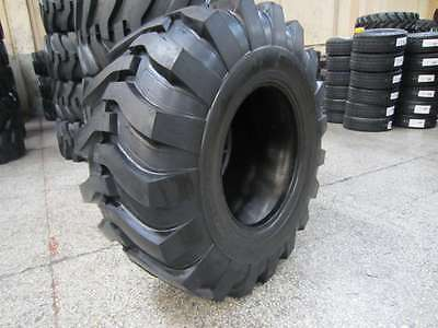 (1-Tire) 19.5L-24 12PLY R4 Rear Backhoe Industrial Tractor Tires 19.5Lx24 195L24