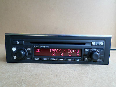 Audi A4 S4 Rs4 S Line Blaupunkt Concert Radio Mp3 Cd