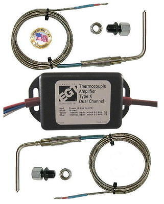 EGT Dual  K-Type Thermocouple Convertor to 0-5V EGT KIT