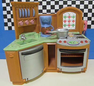 Fisher Price Loving Family Stove And Dishwasher All In One