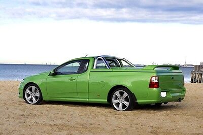 Ford Falcon Ute Rear Spoiler Ba Bf Suit Hard Lid  -   Spoiler Only