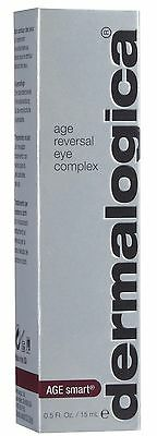 DERMALOGICA AGE REVERSAL EYE COMPLEX 15ml *NEW IN BOX* HOLOGRAPHIC SEALED