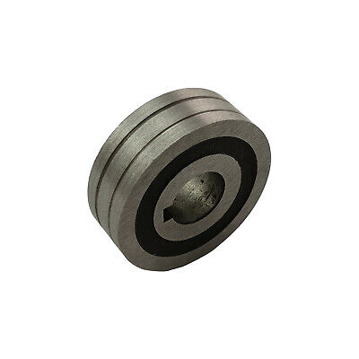MIG Drive Roller Gear 0.9 - 1.2mm V Groove 30 x 10 x 10mm for Steel MIG Wire