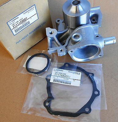 GENUINE Subaru Water Pump and Gasket plus Thermostat O'Ring NEW