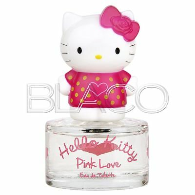 Hello Kitty Pink Love 3D Profumo Edt - 50Ml Per Bambini Cartoon
