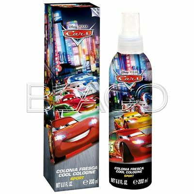 Cars Colonia Body Spray - 200Ml Profumo Per Bambini Cartoon